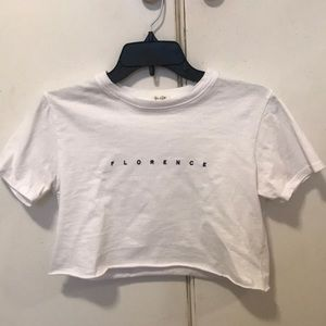 rare brandy melville florence top!